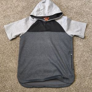 And1 Black and Gray Short Sleeve Men's Shirt